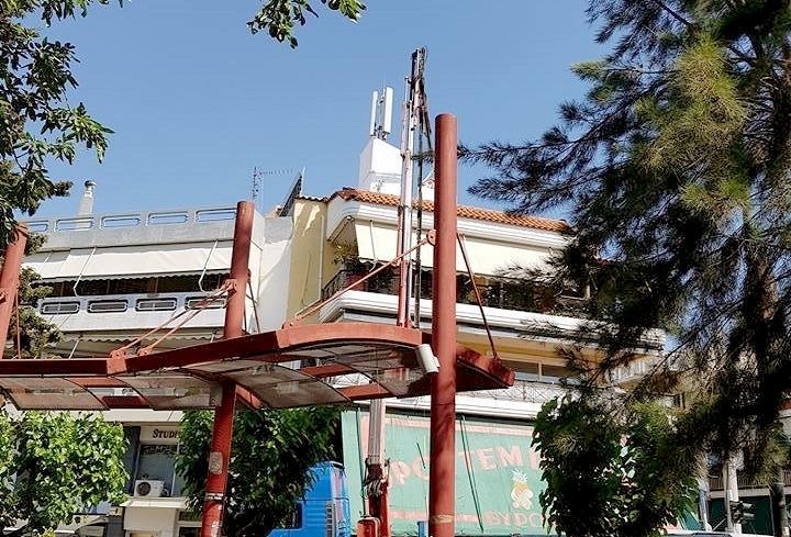 Κεραίες κινητής τηλεφωνίας δίπλα σε σχολεία, η θέση της Ένωσης Γονέων Βύρωνα