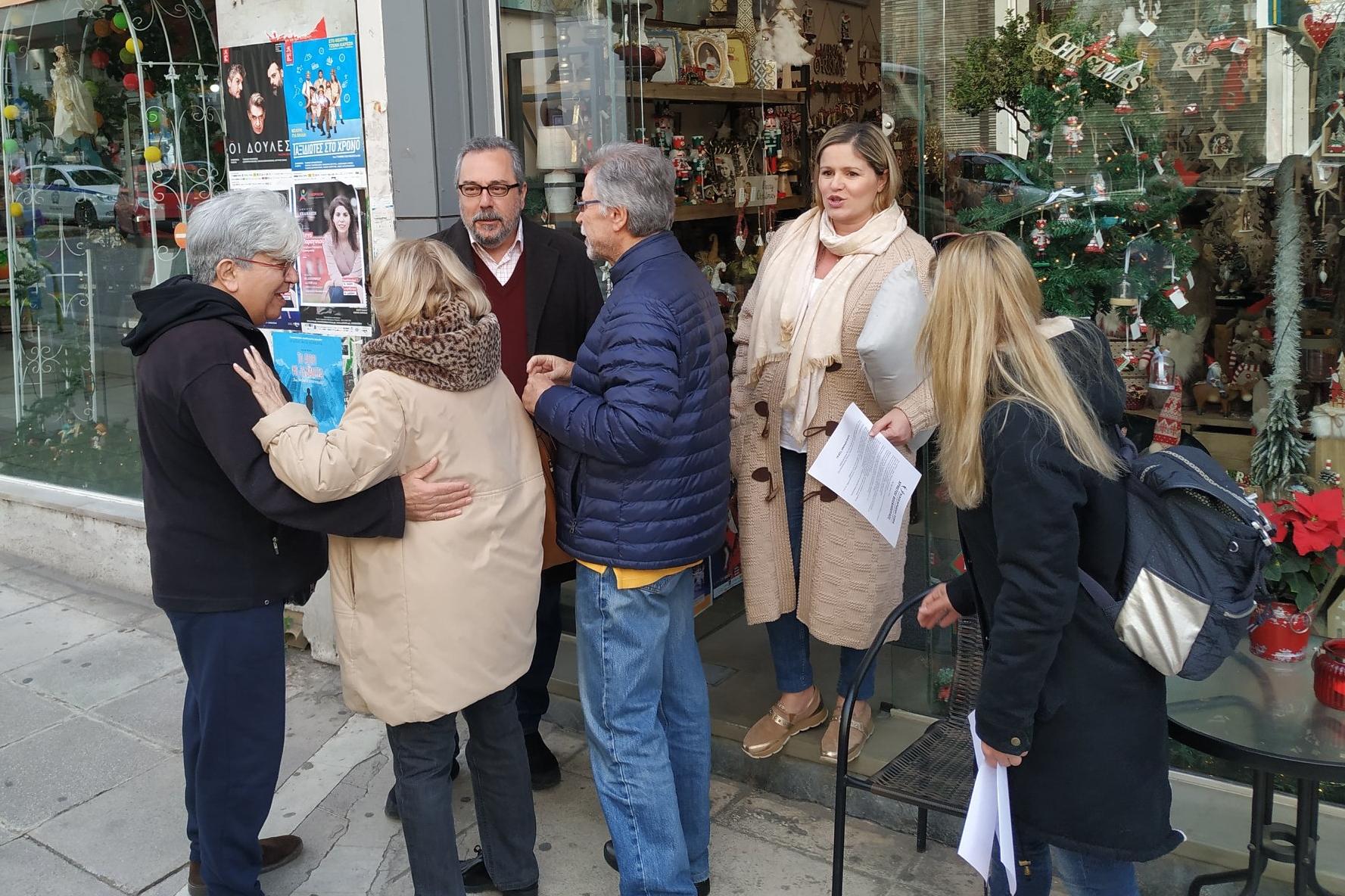 ΚΑΙΣΑΡΙΑΝΗ ΤΩΡΑ: οι πρώτες περιοδείες του υποψήφιου δημάρχου Χρ. Βοσκόπουλου