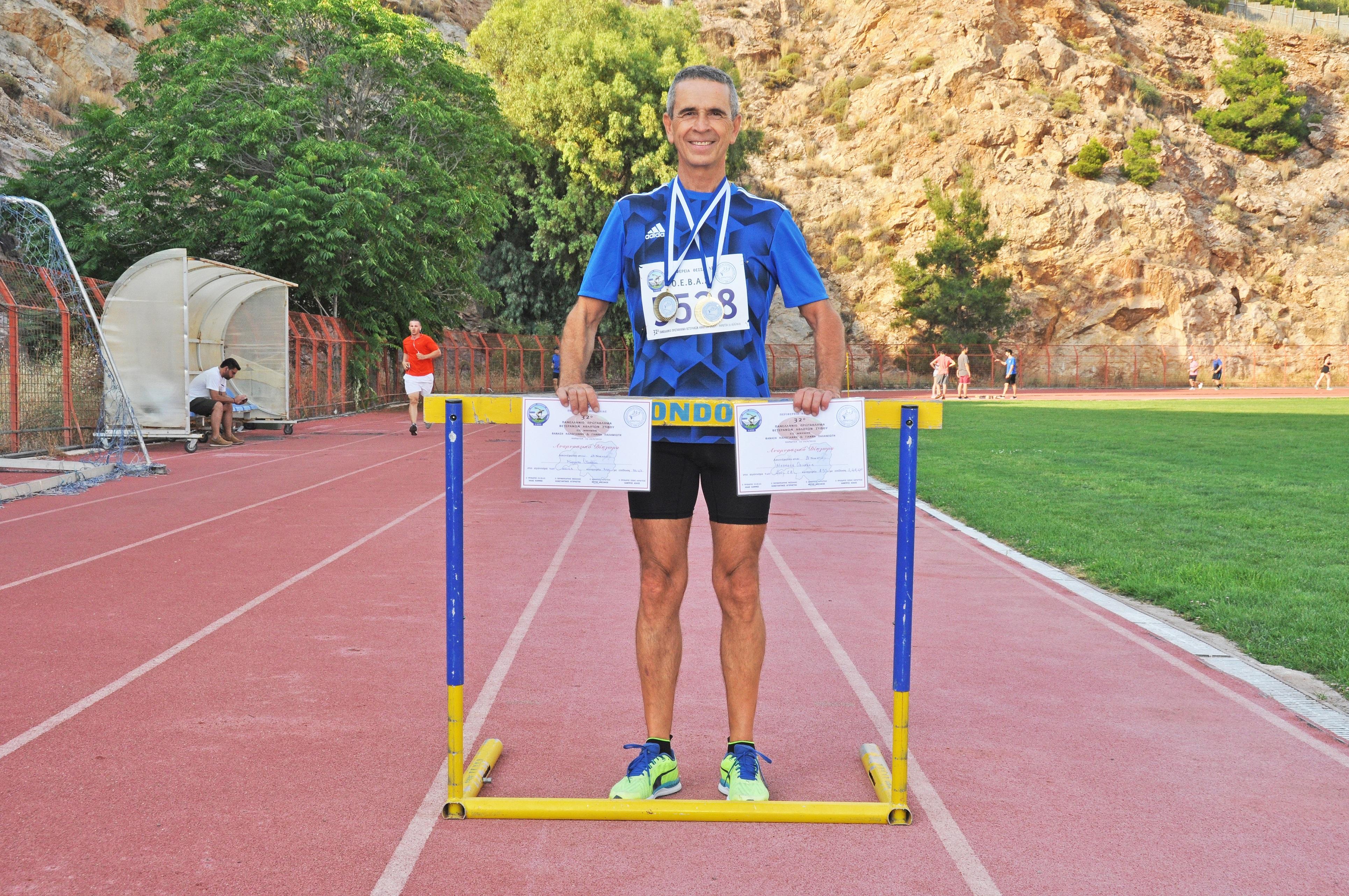 ΟΔΥΣΣΕΑΣ ΜΕΡΜΕΛΑΣ – Καισαριανιώτης πρωταθλητής Ελλάδος στον στίβο