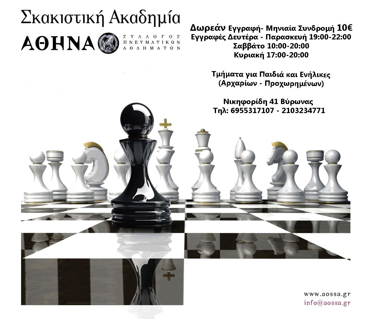 Το σκάκι και τα οφέλη του